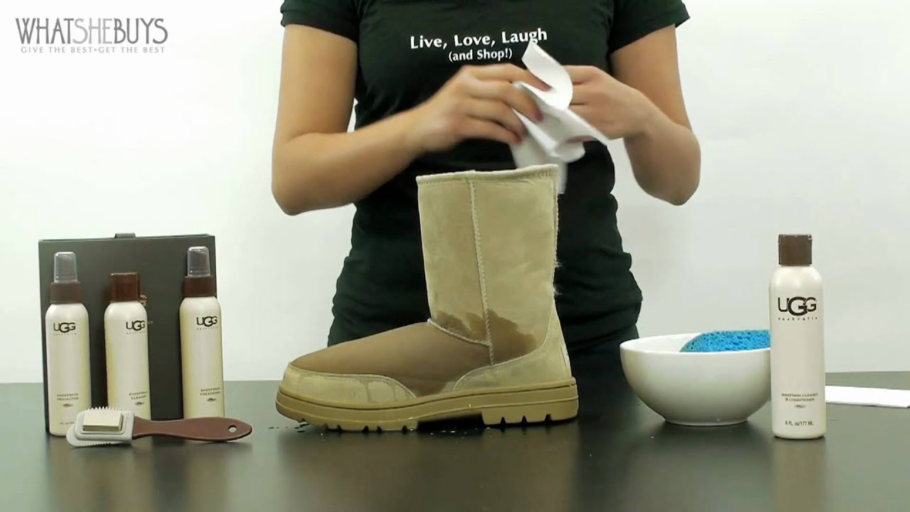 UGG Boots care guide